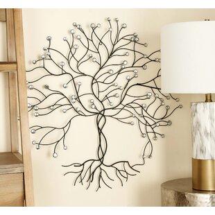 Tree & Nature Metal Wall Art You\'ll Love | Wayfair