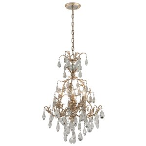 Vivaldi 4-Light Crystal Chandelier