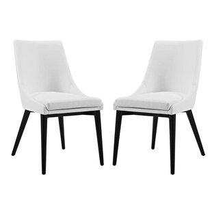 Cream Vinyl Dining Chairs Wayfair