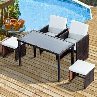 5 Piece 4 Seater Dining Set