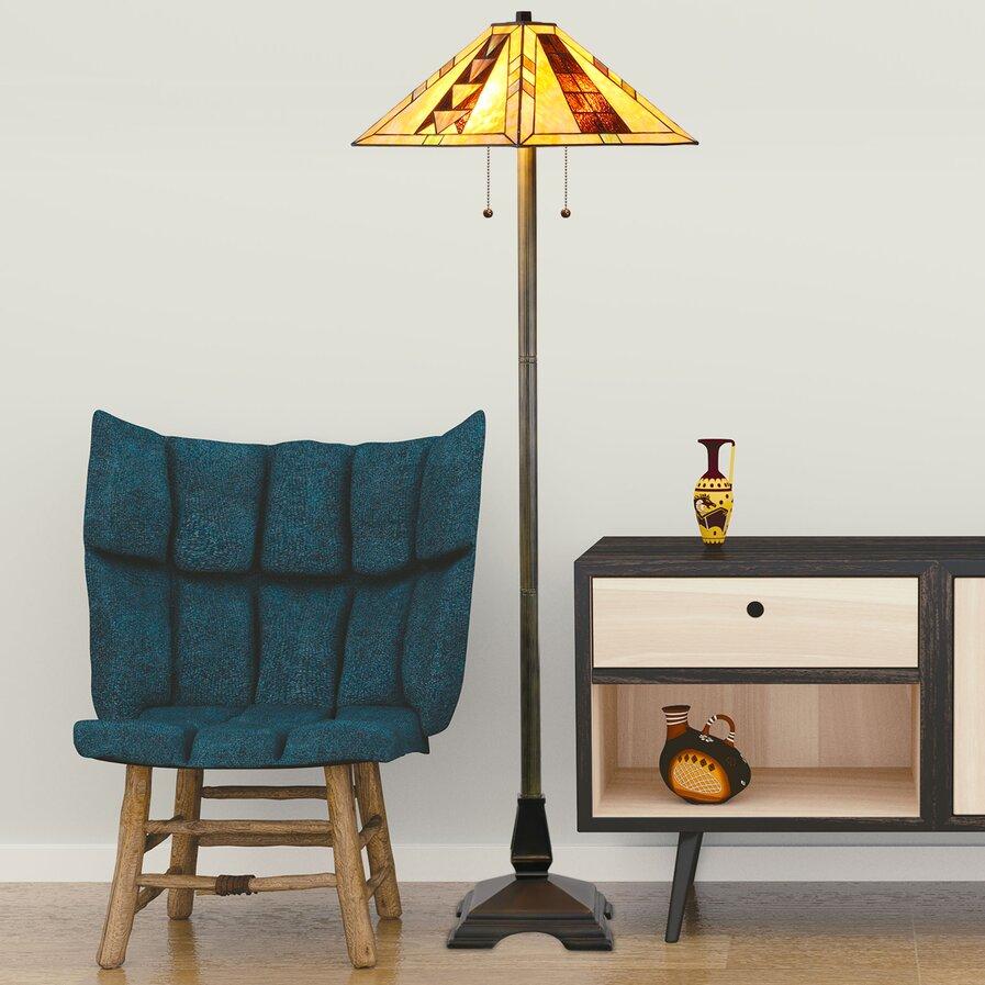 lantern floor lamp wayfair