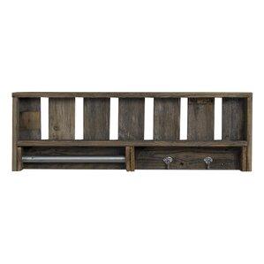 Rabiya Reclaimed Wood Versatile Accent Shelf