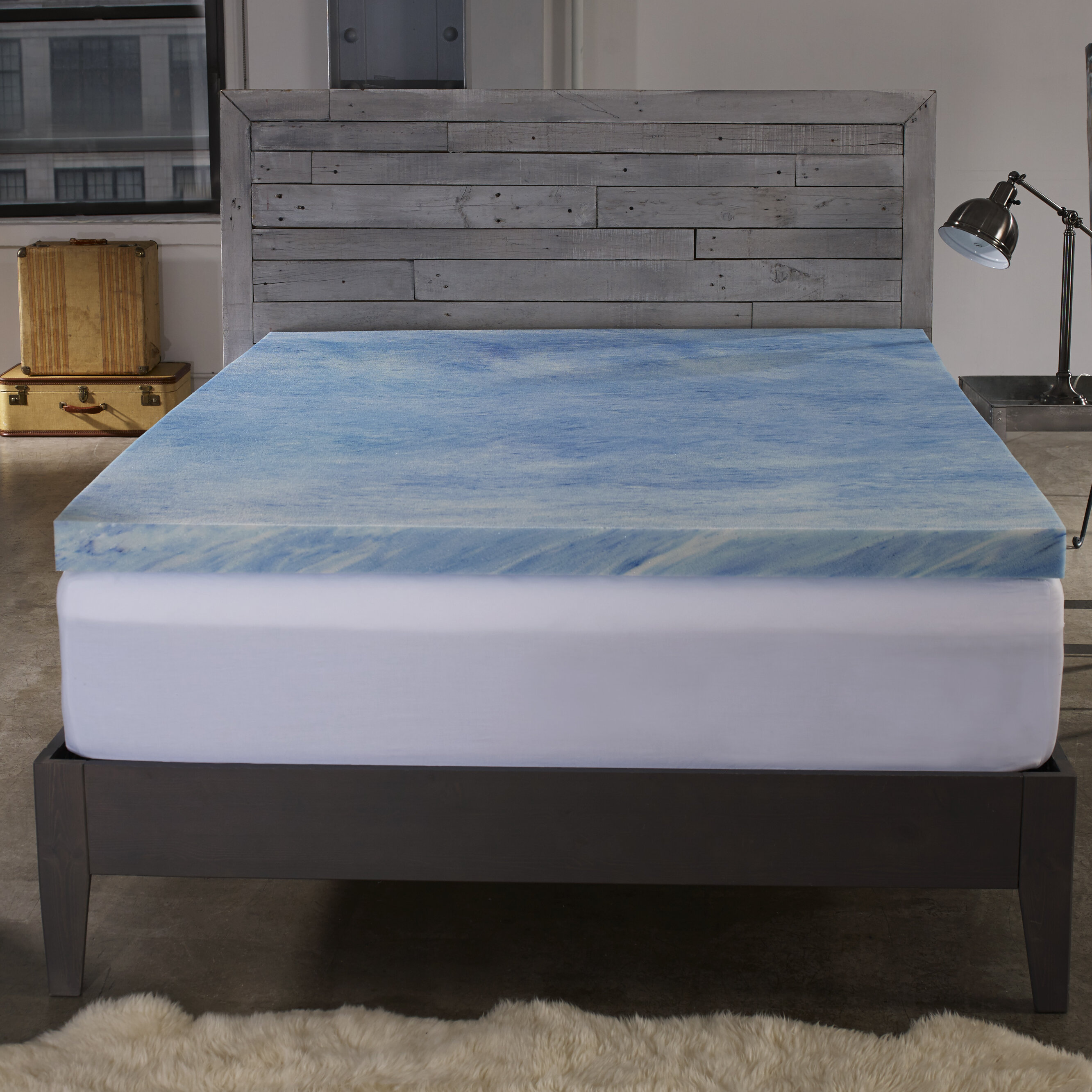 Sleep Innovations 2 5 Gel Memory Foam Mattress Topper Reviews