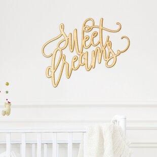 Marvelous Sweet Dreams Wall Décor