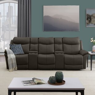 Reclining Sofa With Cup Holder Wayfair