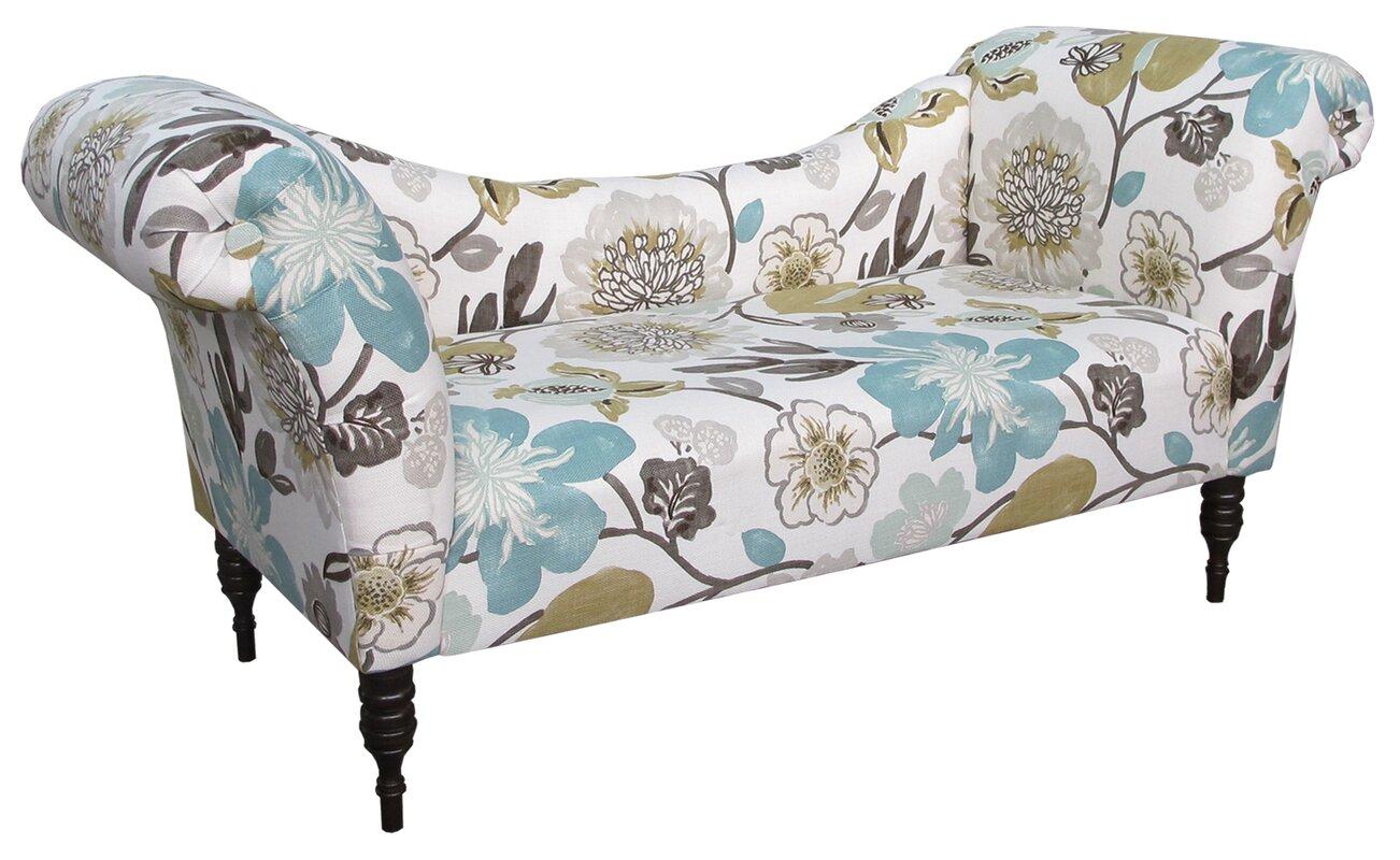 Roll Arm Chaise Lounge. Roll Arm Chaise Lounge. By Skyline Furniture