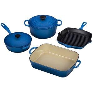 Cast Iron Signature 6 Piece Cookware Set