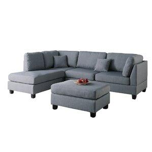 Chaise Sofa Sectional Sofas Youu0027ll Love | Wayfair