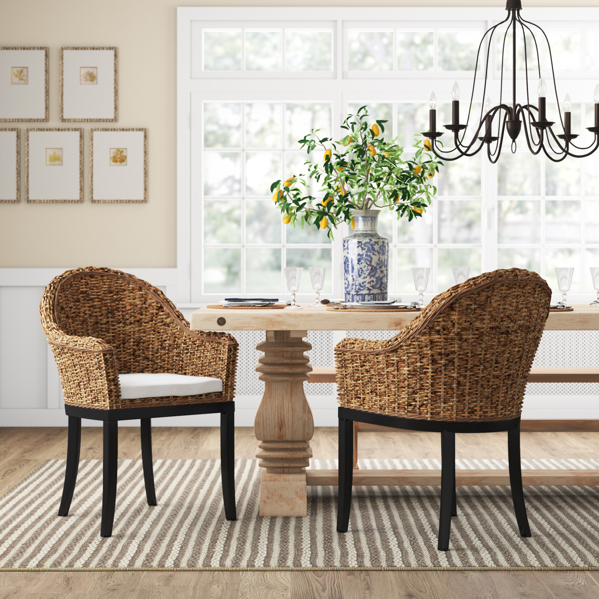 . Monticello Arm Chair