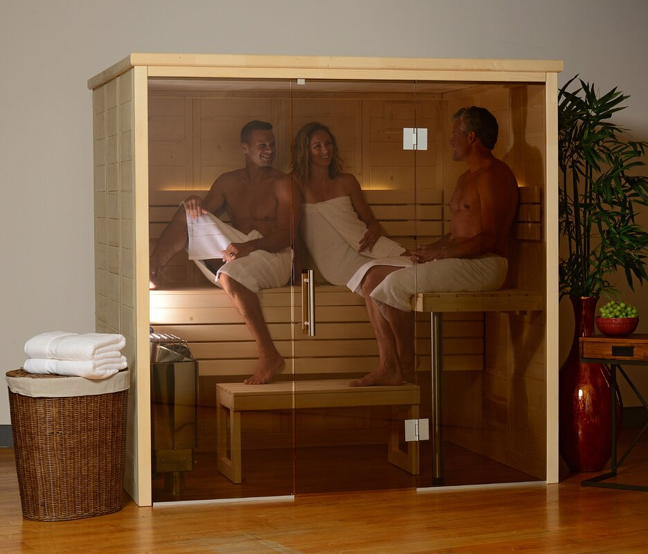 Almost Heaven Saunas Worthington 6 Person Traditional