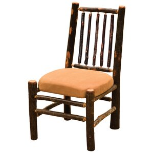Hickory Side Chair by Fire..