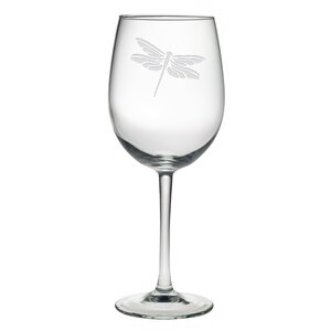 Dragonfly Wine Glass (Set of 4)