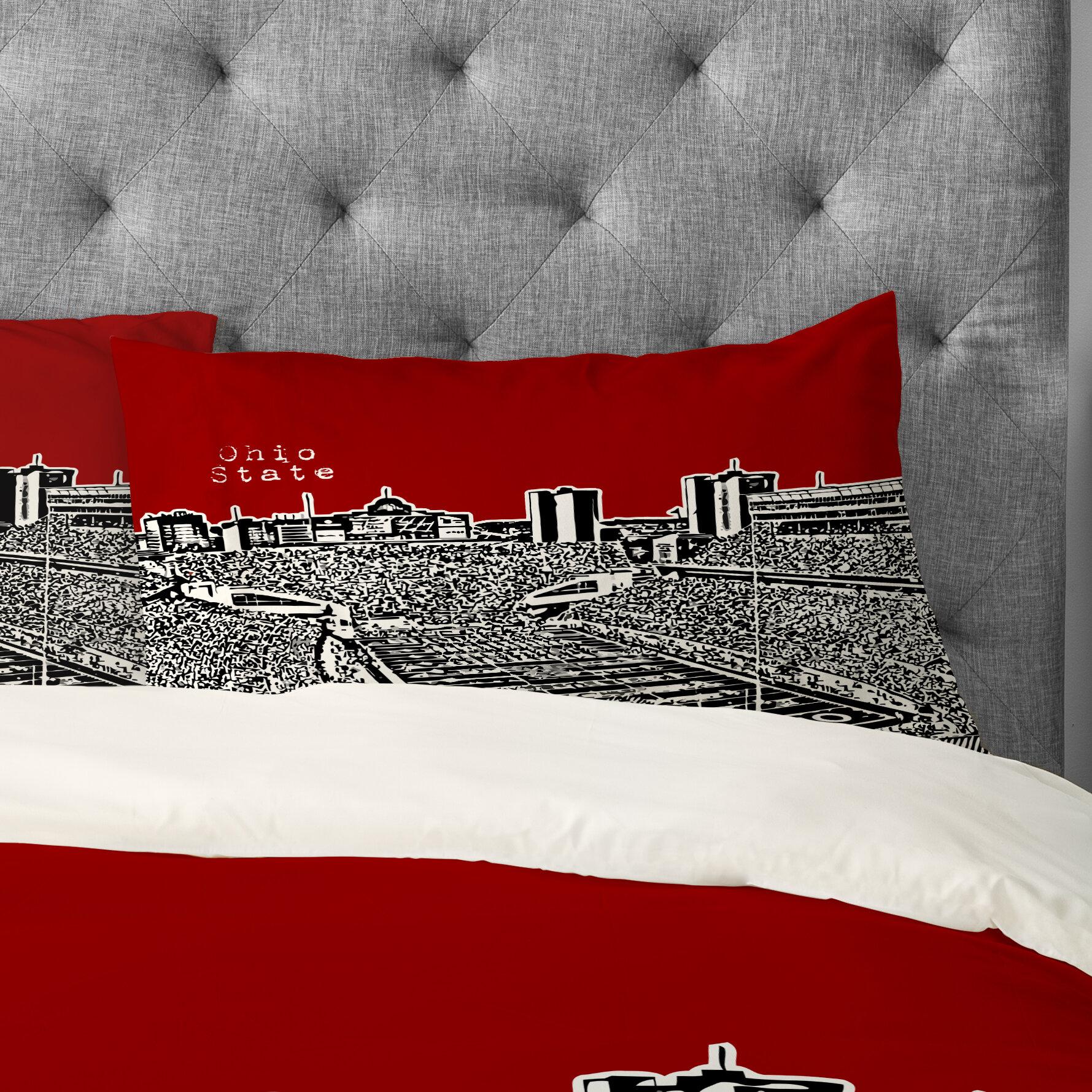Bird Ave Ohio State Buckeyes Pillowcase
