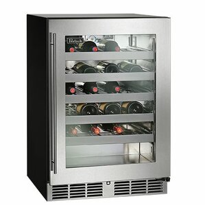40 Bottle C-Series Freestanding Wine Cooler by Perlick