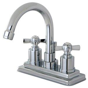 Millennium Double Handle Centerset Bathroom Faucet