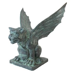Winged Gargoyle Of Naple Garden Statue