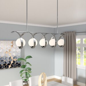 Bacher 5-Light Candle-Style Chandelier