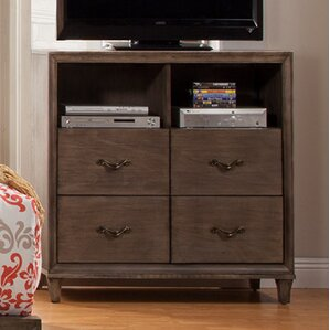 Oriane 4 Drawer Media Chest by Gracie Oaks