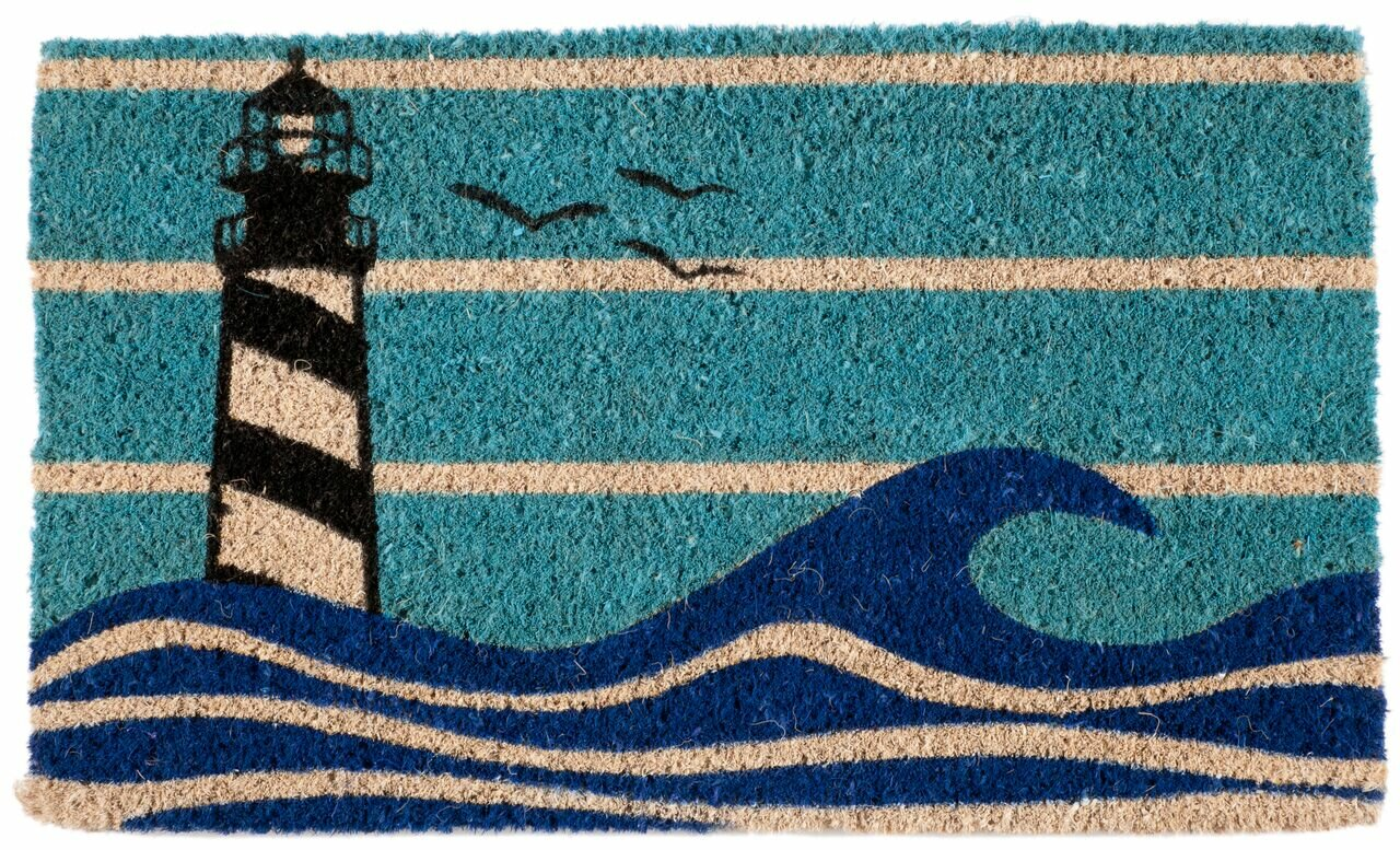 Entryways Lighthouse Doormat Amp Reviews Wayfair