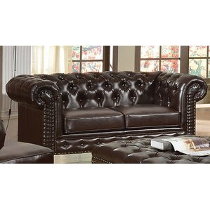 Destan Bonded Loveseat by Darby Home Co