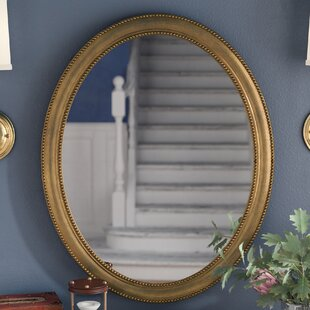 30 Oval Accent Mirror By Alcott Hill