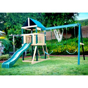 Congo Safari Play System Swing Set