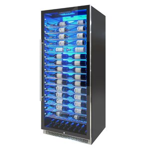 188 Bottle Private Reserve Series Single Zone Freestanding Wine Cellar by Vinotemp