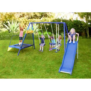 Small Under 800 Sq Ft Swing Sets You Ll Love Wayfair