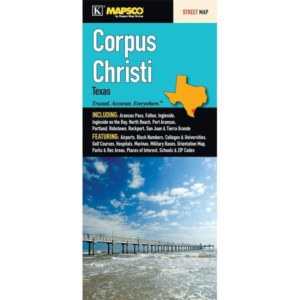 Universal Map Corpus Christi (Rockport/Fulton Inset) Fold Map | Wayfair