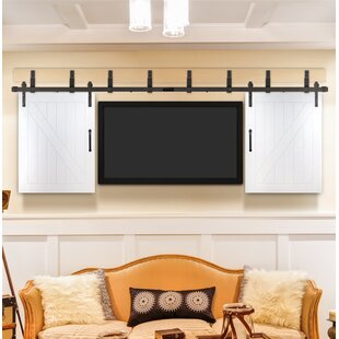 Cottage Prefinished TV Interior Barn Door