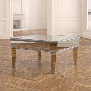 Glass Top Display Coffee Table Wayfair
