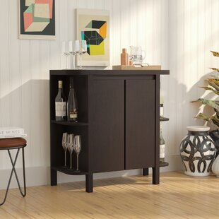 Spraggins Bar Cabinet with Wine Storage