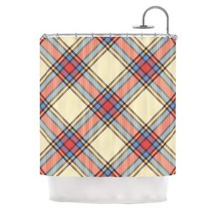 Plaid Tartan plaid shower curtains you'll love | wayfair