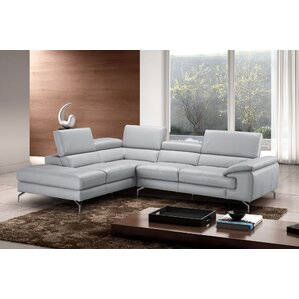 J&M Furniture Olivia Leather Sectional