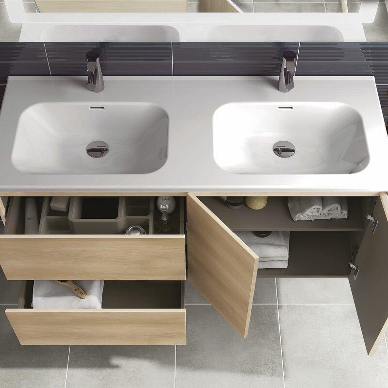 "WS Bath Collections Ambra 48"" Double Bathroom Vanity Set ..."