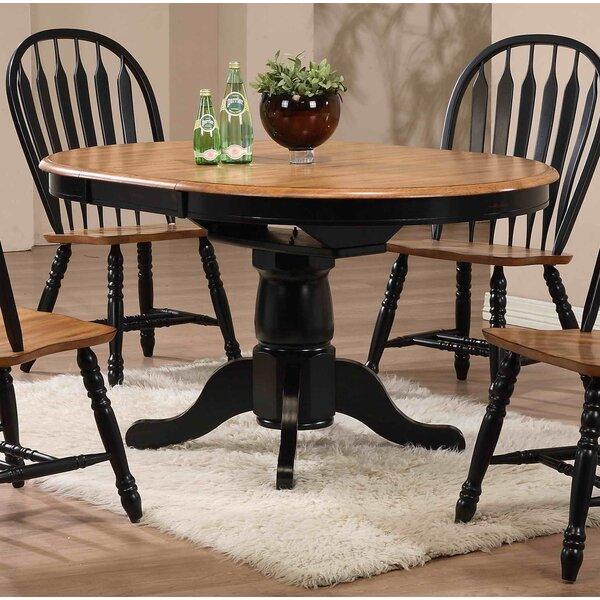 Farmhouse Kitchen Extending Table: Beachcrest Home Florentia Extendable Dining Table & Reviews