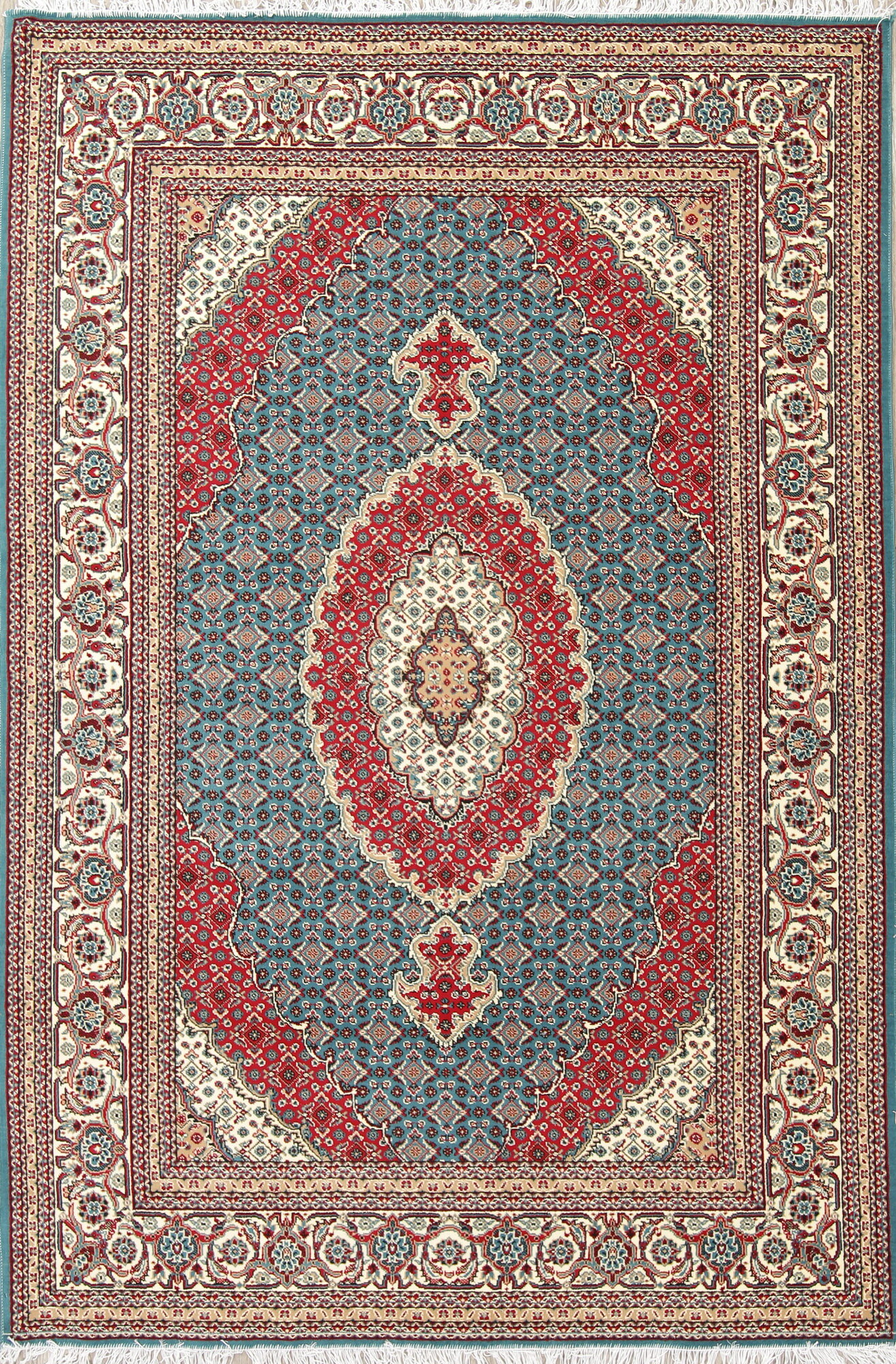 Astoria Grand Bertha Medallion Bidjar Turkish Oriental Red