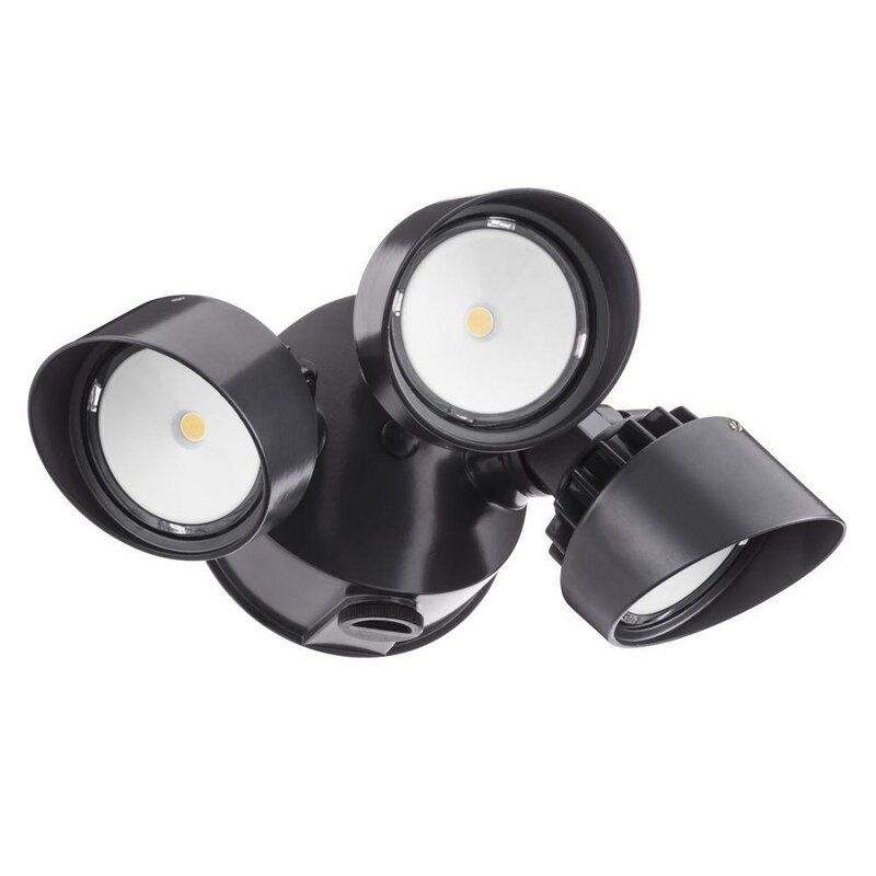 Lithonia lighting olf led 3 light outdoor spotlight reviews wayfair olf led 3 light outdoor spotlight workwithnaturefo