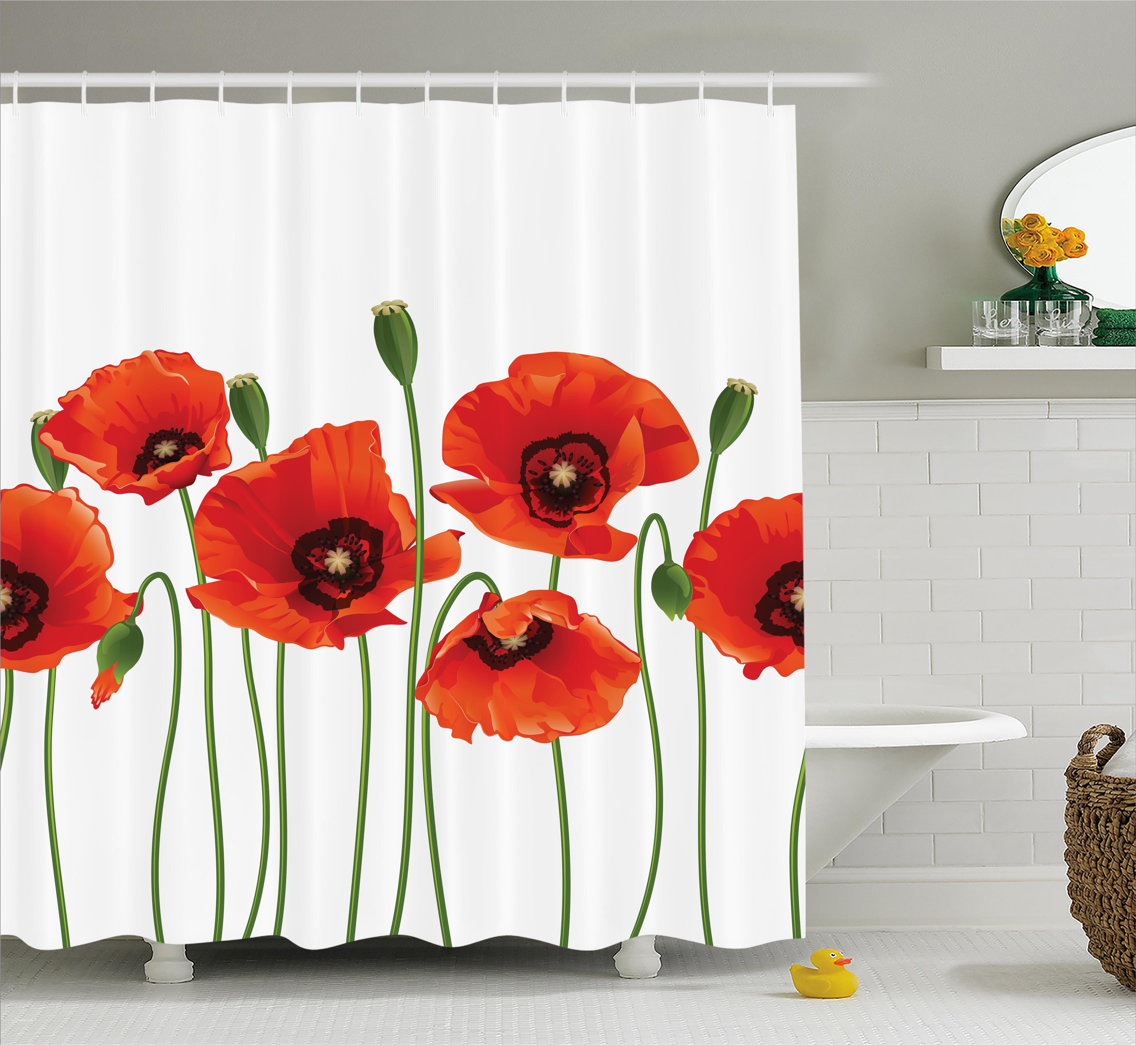 East Urban Home Spring Season Flowers Shower Curtain & Reviews ...
