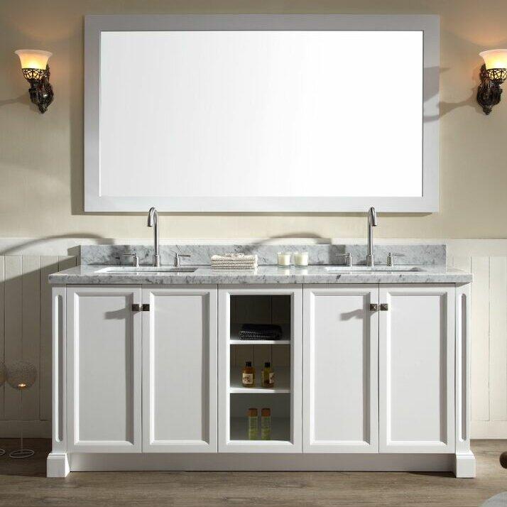 Ariel Bath Westwood Double Bathroom Vanity Set Wayfair - Bathroom vanities coral springs fl