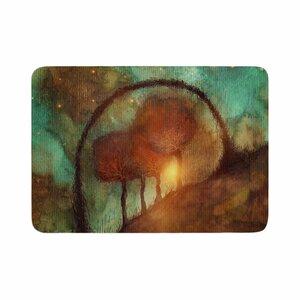 Viviana Gonzalez Track 28: Sunset and Dreams II Memory Foam Bath Rug