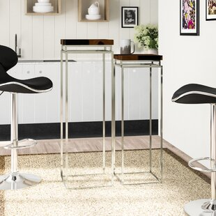 Pedestal 2 Piece Pub Table Set