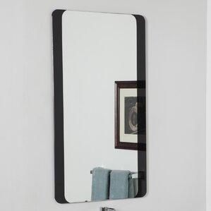 Modern Metal Bathroom Mirrors