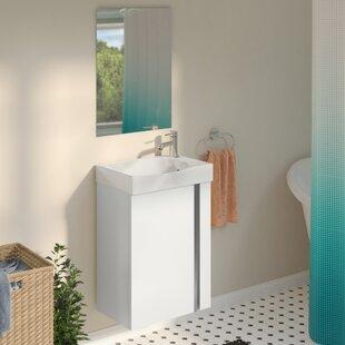 narrow bathroom sink vanity.  Narrow Depth Bathroom Vanity Wayfair