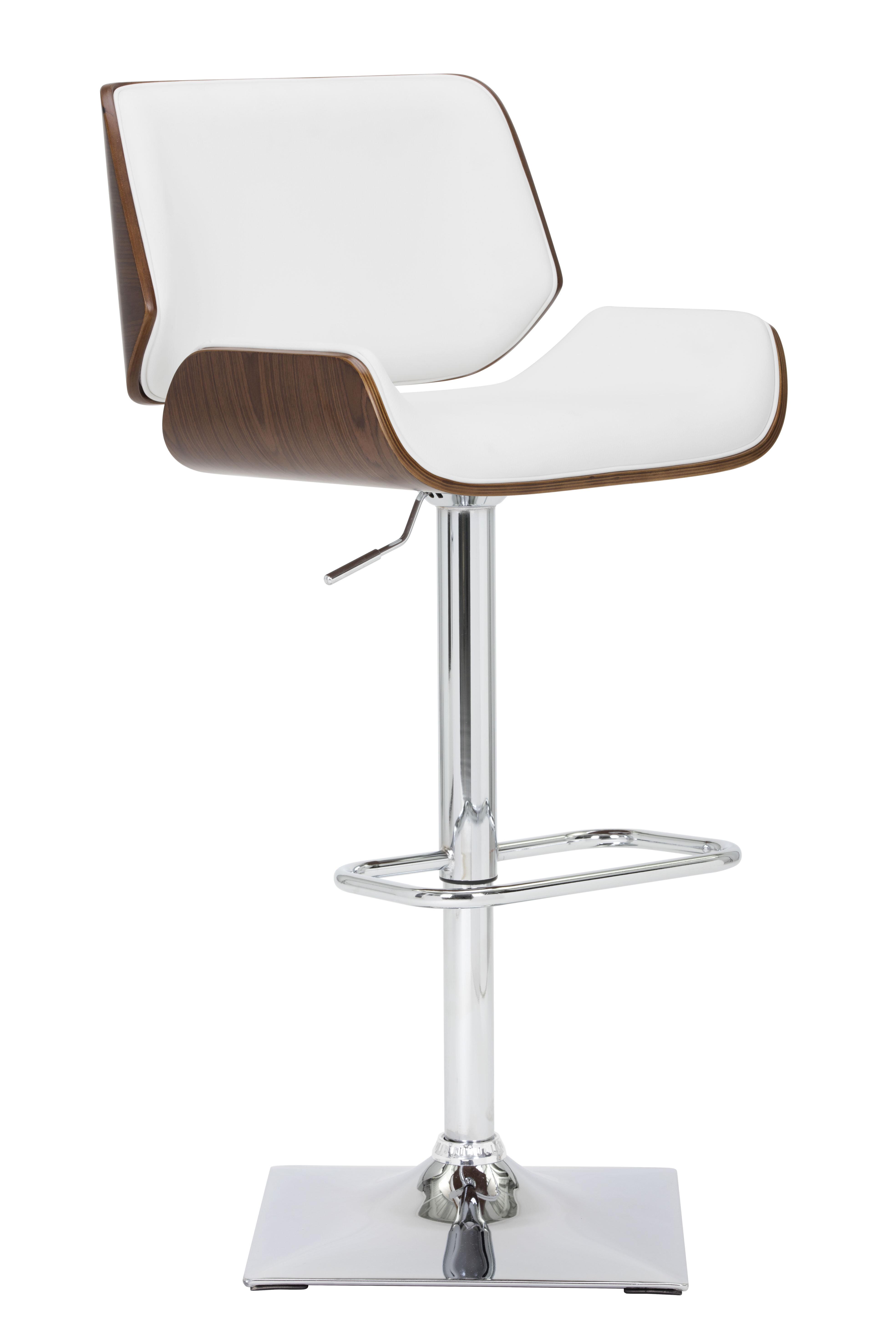 adjustable height swivel bar stool. Sunpan Modern Kinley Adjustable Height Swivel Bar Stool \u0026 Reviews | Wayfair.ca E