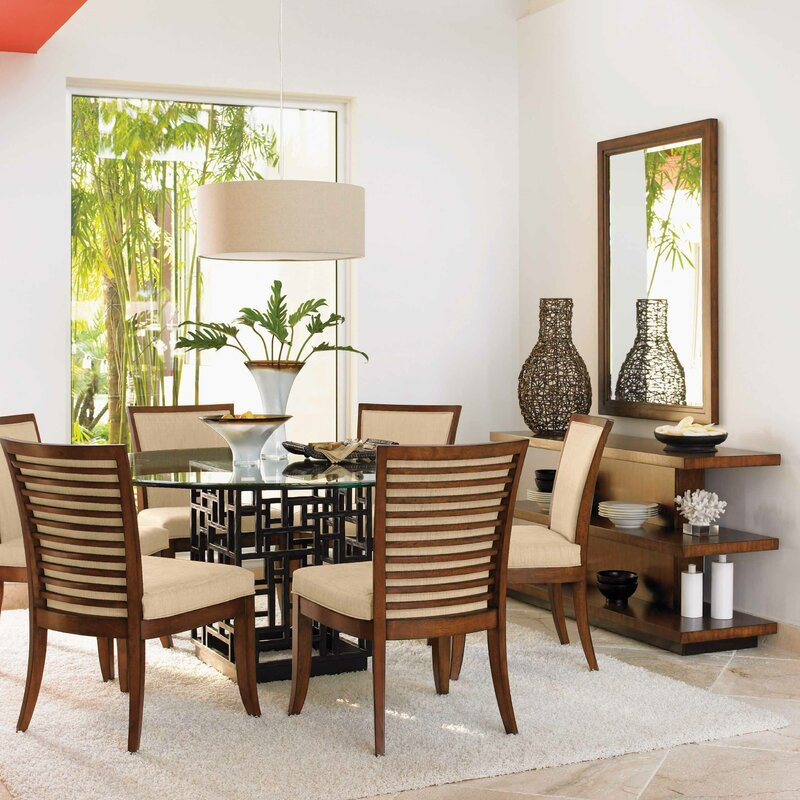 Tommy Bahama Home Ocean Club 7 Piece Dining Set Amp Reviews