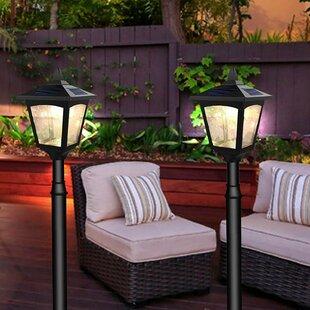 Modern post lighting allmodern croker solar powered mini vintage 1 light led 42 post light workwithnaturefo