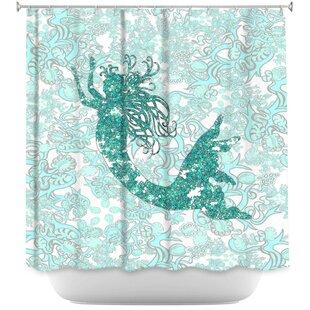 Bellingham Mermaid Shower Curtain
