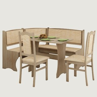 Rivale 4 Piece Breakfast Nook Dining Set