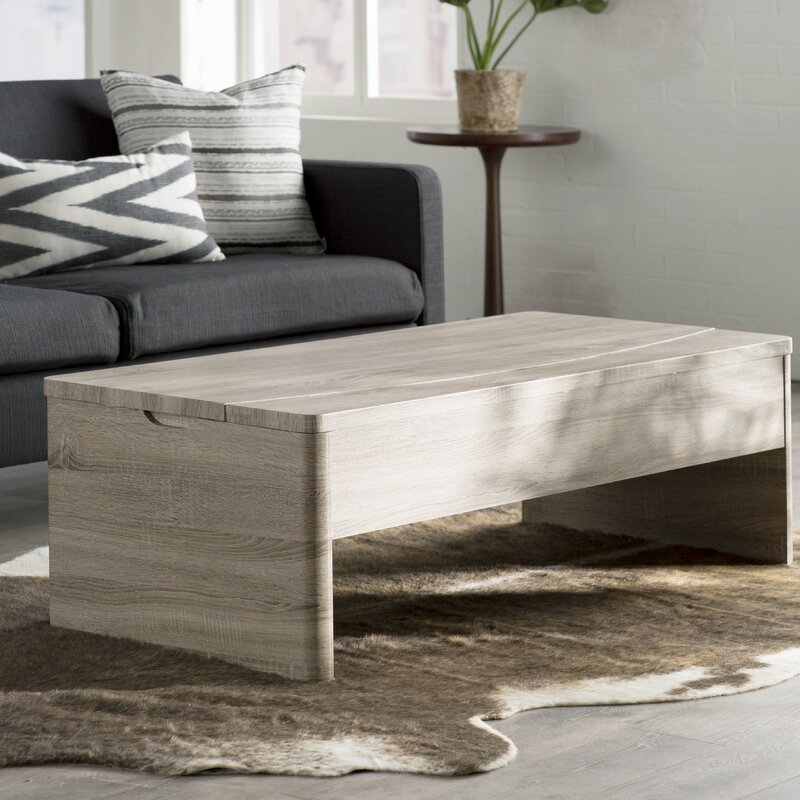Small Coffee Tables That Lift Up: Mercury Row Ager Lift Top Coffee Table & Reviews